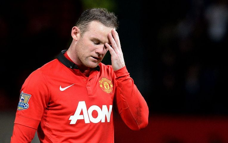 Rooney Disappointed