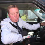 Redknapp in car