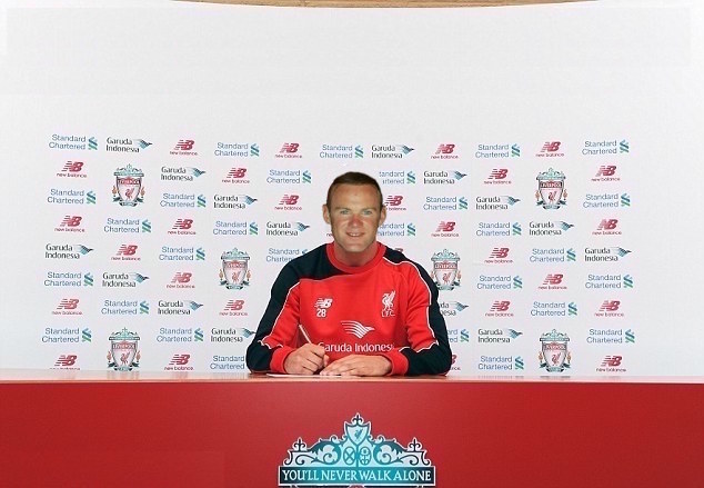 Rooney signs for Liverpool